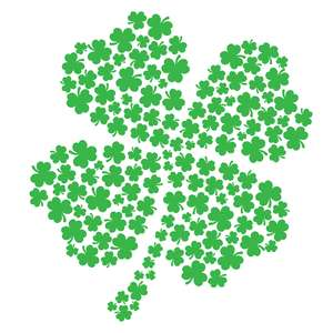 st. patrick's day four leaf clover