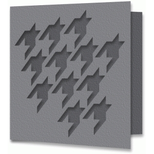 houndstooth card