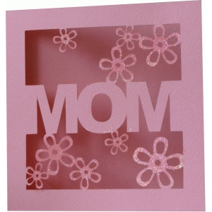 mother`s day card