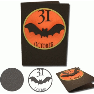 31 october card and shape set