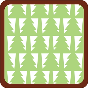 christmas tree square