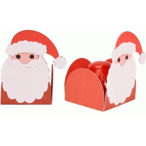 treat holder santa claus