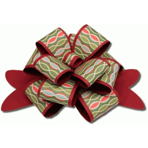 3d layered package bow