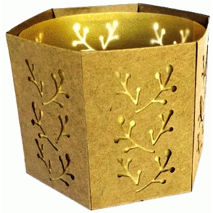 bud vines votive holder