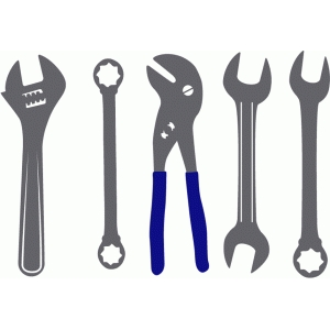 tool set - wrenches