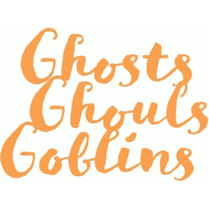 ghosts ghouls goblins