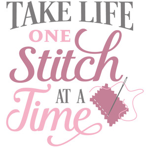 one stitch at a time