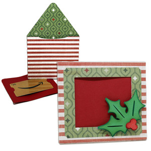 holly gift card holder