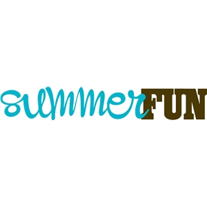 summer fun phrase