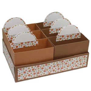 6 compartment storage unit