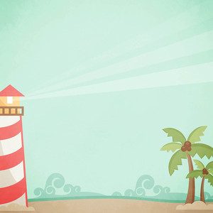 lighthouse scene background paper