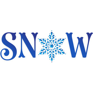 christmas holiday snow wording