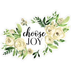 choose joy floral