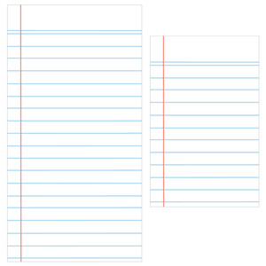 travelers notebook pages - lined