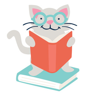 reading kitty back to school