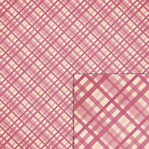 pink plaid background paper