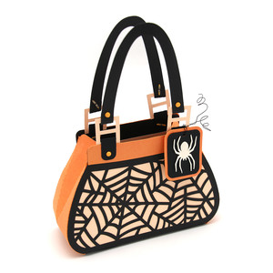 spiderweb purse