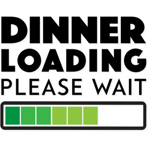 dinner loading please wait