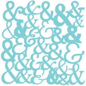 ampersand background