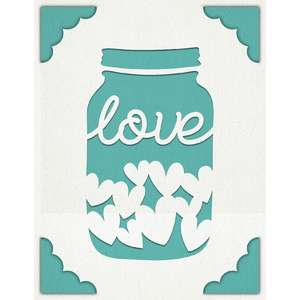 a2 insert card love jar