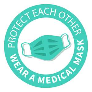 protect each other, wear a mask phrase