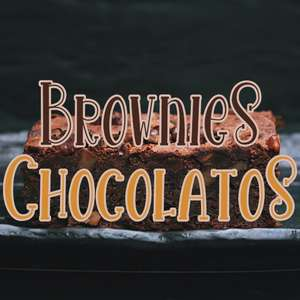 brownies chocolatos