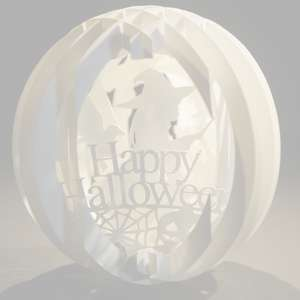 four layered pop up sphere halloween