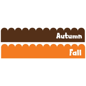 autumn & fall 12""