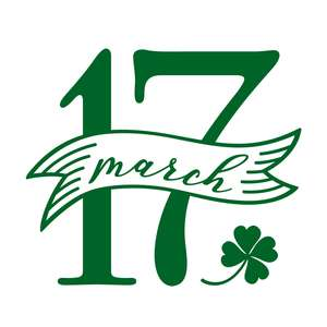 17 march st patrick's day