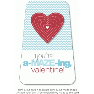 you're amazing - 3d card series