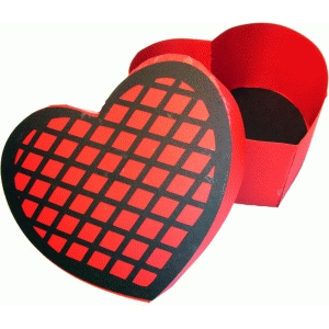 lattice heart box