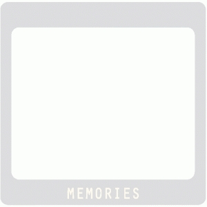 memories slide frame