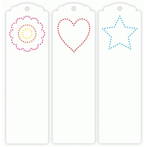 stitching bookmarks
