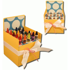 3d coloring storage box