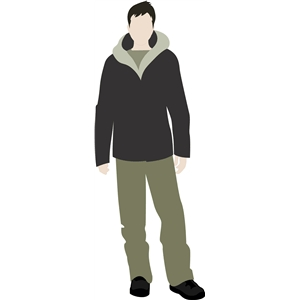 john paper doll snow clothing