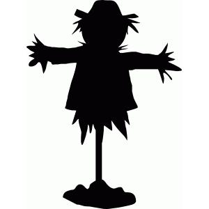 Silhouette Design Store - View Design #66102: scarecrow ...