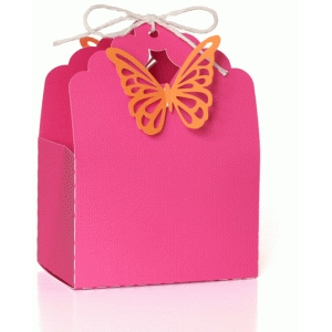 butterfly favor bag