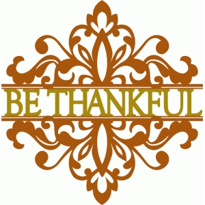 be thankful split damask