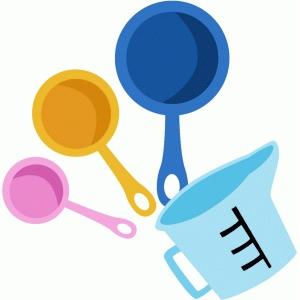 measuring cup and spoons