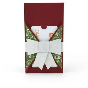 gift card holder wrap with box