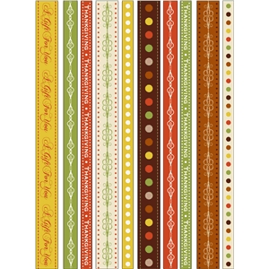 borders thanksgiving ribbons