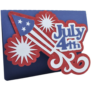 roman candle independence day card