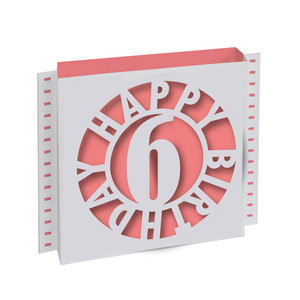 birthday shadow box card 6