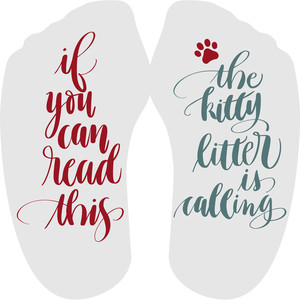 if you can read this – kitty litter