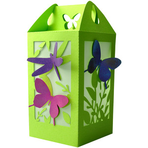 butterfly dragonfly summer lantern