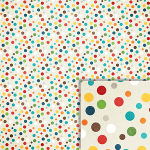 polka dots background paper