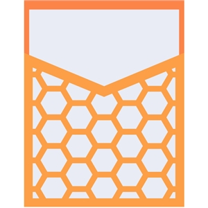 pocket - honeycomb