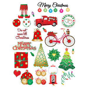 christmas fun planner stickers