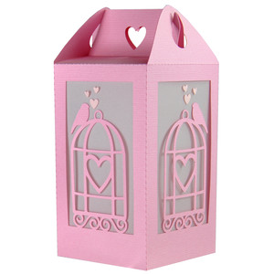 love bird valentine lantern