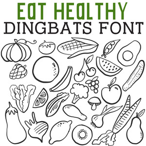 cg eat healthy dingbats